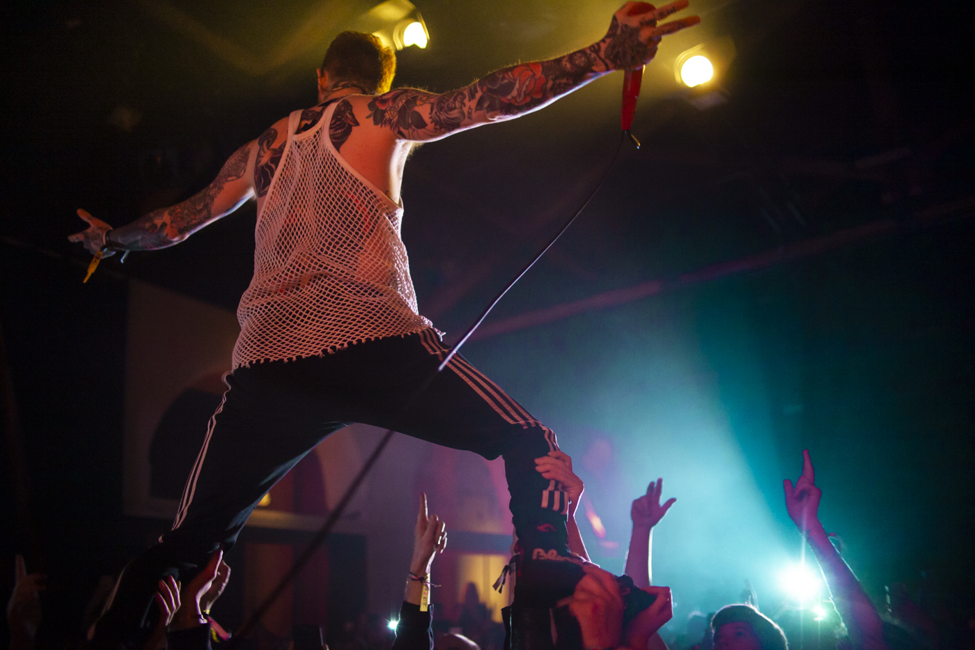 Frank Carter and The Rattlesnakes, photo