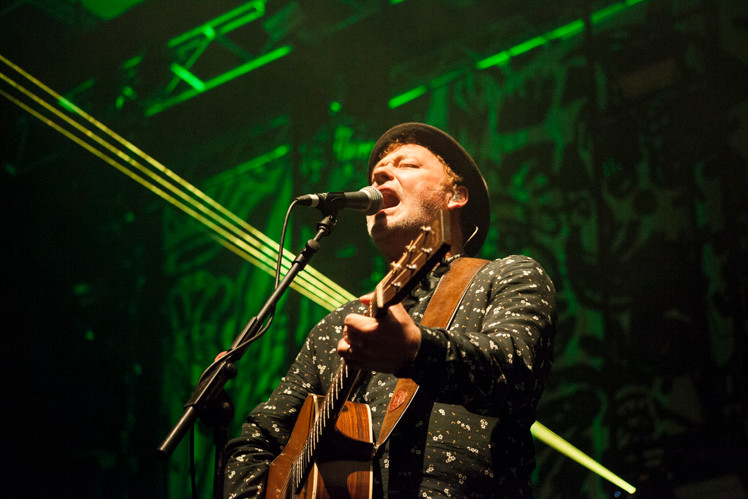 The Levellers at Brighton Dome, photo by Gili Dailes