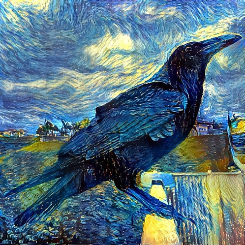 Impressionist Raven