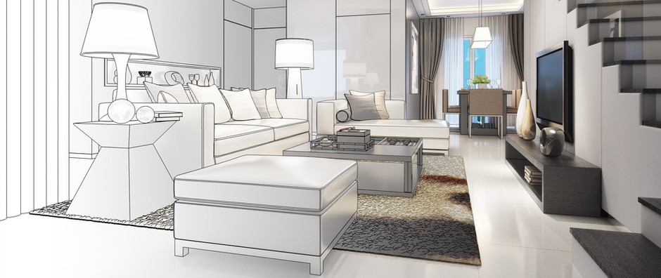 What are the 7 elements of interior design?