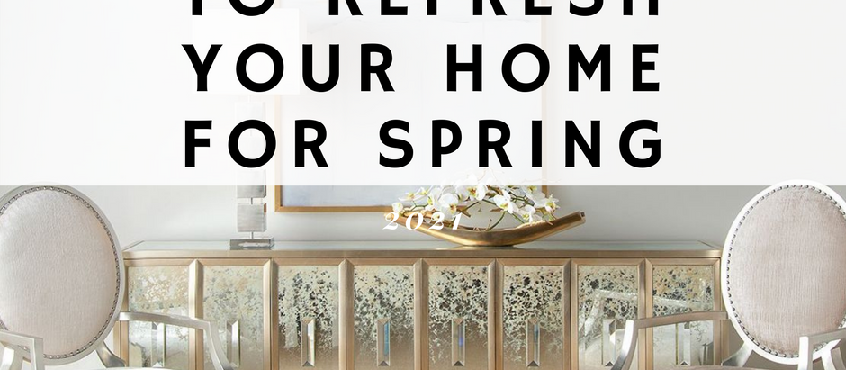 Simple Ways to Refresh Your Home for Spring