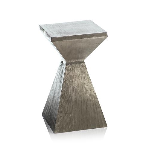 Kenya Square Nickel Stool