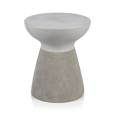 Pablo Earthenware Two-Tone Stool