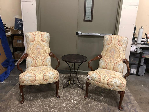 Goose Neck Chairs - Set of 2