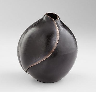 Large Dimple Vase Bronze Copper