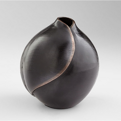 Large Dimple Vase Bronze Copper