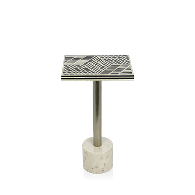 Rectangular Sultana Cocktail Table on Marble Base