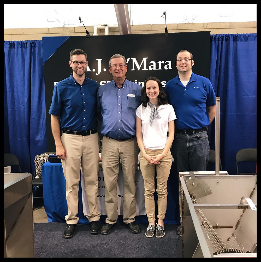AJ Team at the World Pork Expo 2017