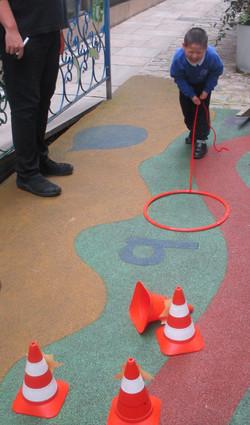 Hoop the cone