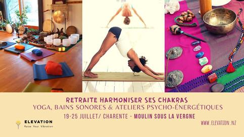 Retraite Harmoniser Ses Chakras