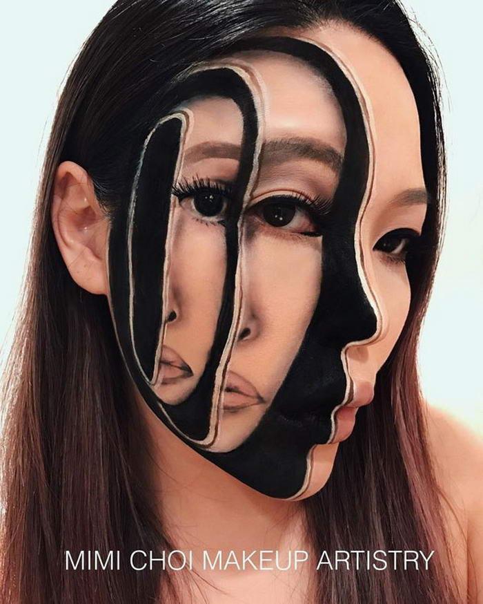 3-D makeup