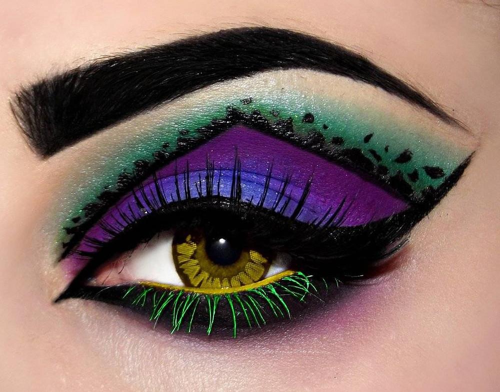 eye makeup creation