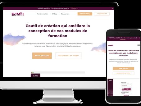 Digitalisation de la formation du pôle Luxe by Edmill