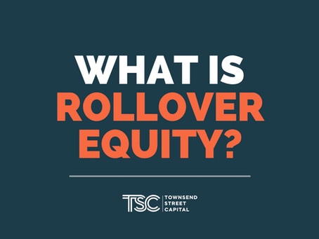 What is Rollover Equity?