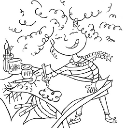 Illustrator Lisa Allen Releases Free Colouring Sheets For Magic Mistakes