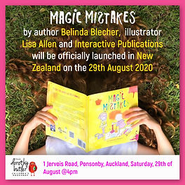 Magic Mistakes Book Launch In NZ!