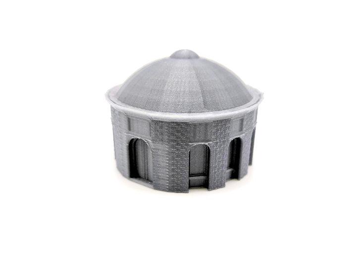 Hall circulaire en briques (6mm)