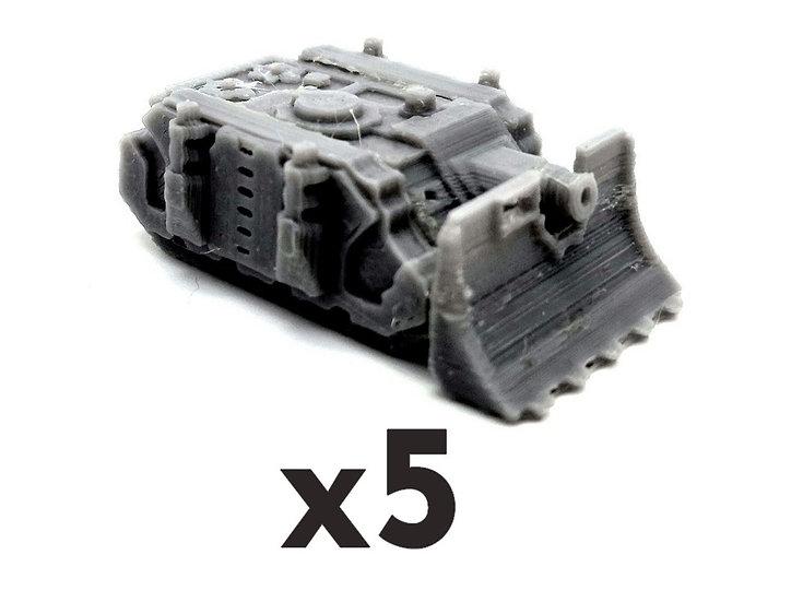 Chars Vindicator x5 (6mm)