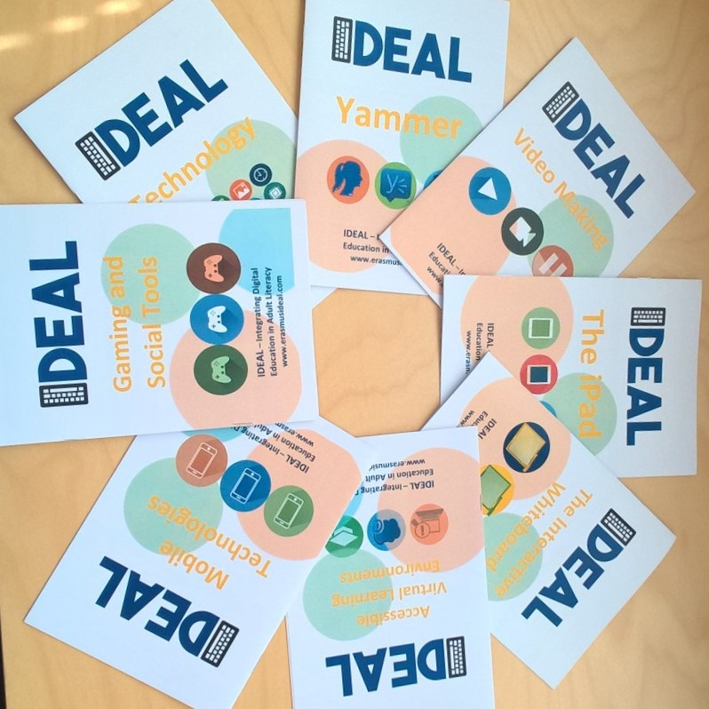 IDEAL-projektin materiaalit