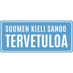 Suomen kieli sanoo tervetuloa