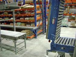rack surtidor con rodillo mettalico