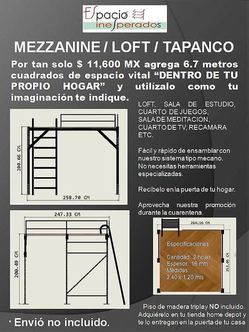 rack mezzanine - loft - tapanco