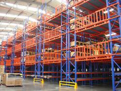 sistemas de almacenaje mezzanine