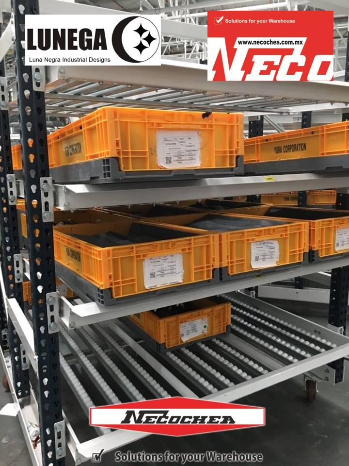 rack carton flow