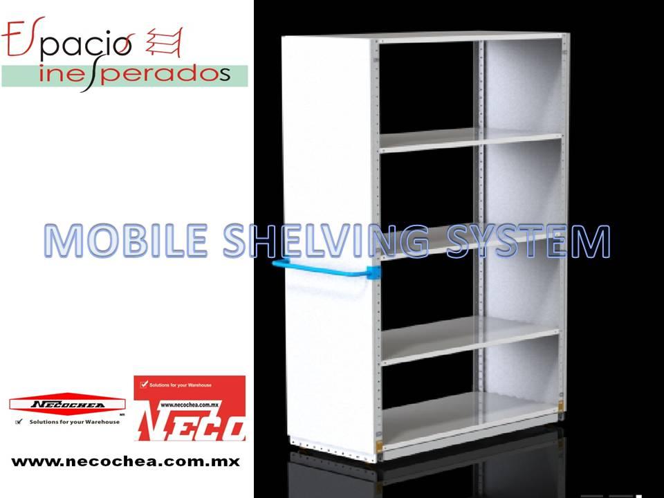 mobil shelving rack
