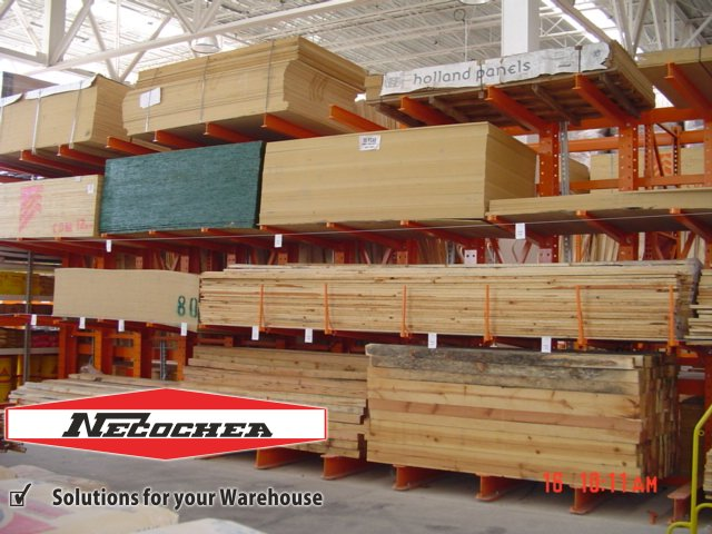rack cantilever