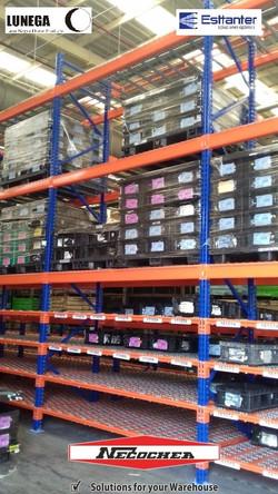 rack selectivo carton flow