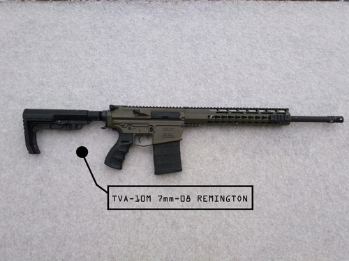 TVA Custom Build | TVA-10M 7mm-08 Remington AR-10 Platform Rifle |  the-vault-armory