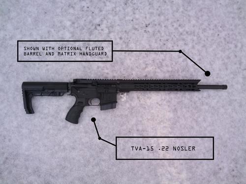TVA Custom Build   TVA-15 22 Nosler AR-15 Platform Rifle   the-vault-armory