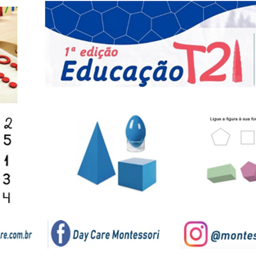 Educação Montessori T21 - Aula 1 para Educadores - Síndrome de Down na Sala de Aula