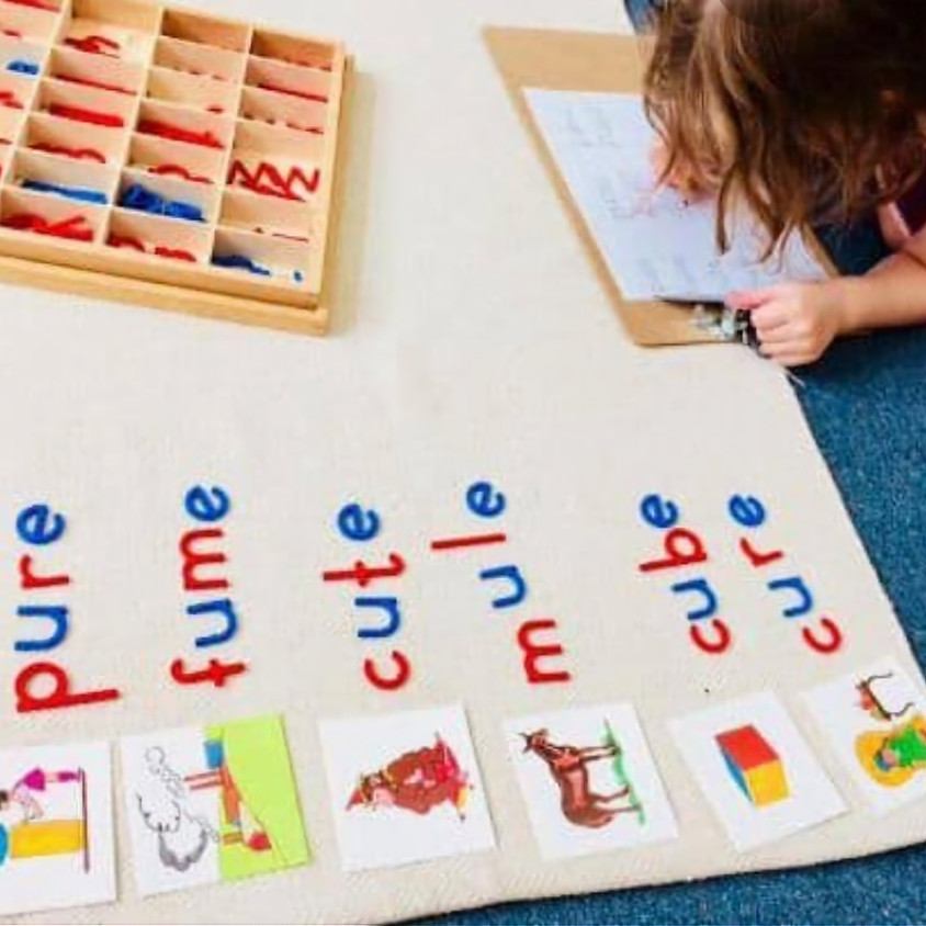 Treinamento Montessori T21 - Módulo lll São Paulo - Alfabetização