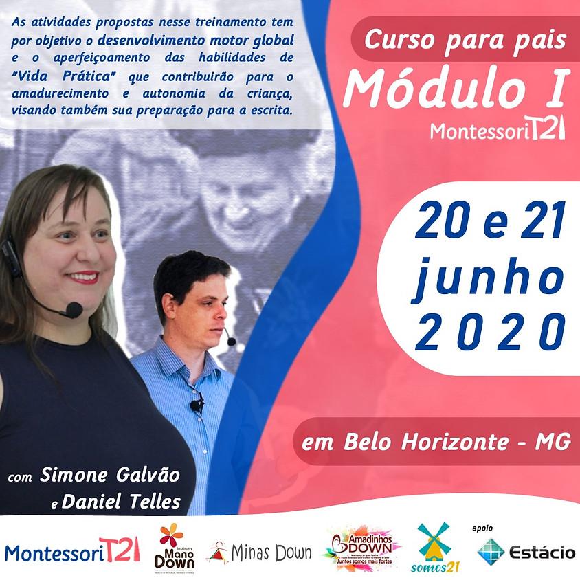 Curso Módulo I Montessori T21 - Belo Horizonte MG