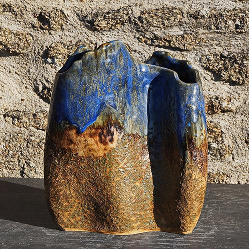 """Vase """"Terre-Creuse"""" 28x14H33cm"""
