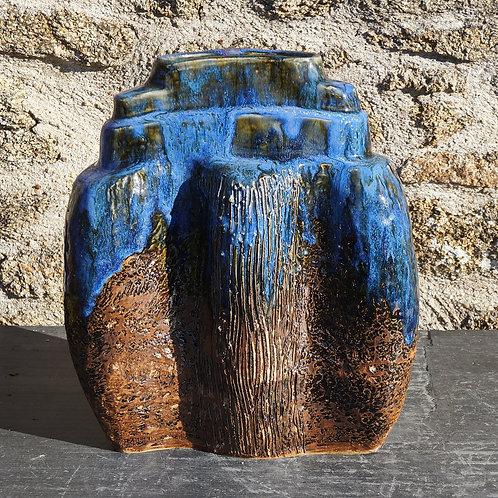 """Vase """"Terre-Creuse"""" 28x15H34cm"""