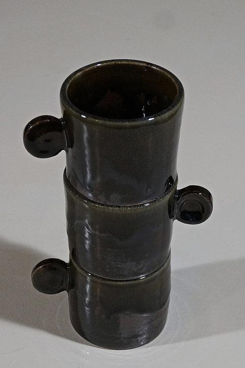3 Tasses Ø7,5H6cm 10cl