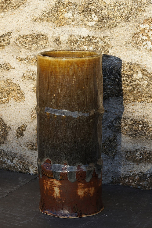 "Vase ""bambou"" Ø15H35cm"