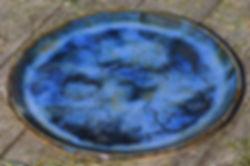 plat grès Ø31cm