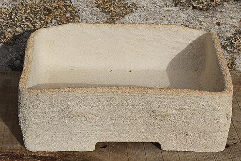 Pot rectangle 26,5x21,5 H9 cm