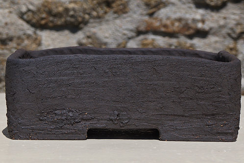 Pot rectangle 25x20 H9 cm