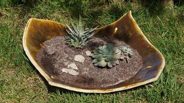 Céramique Trémoureux Jardinière Grès 40x