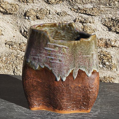 """Vase """"Terre-Creuse"""" 26x15H30cm"""