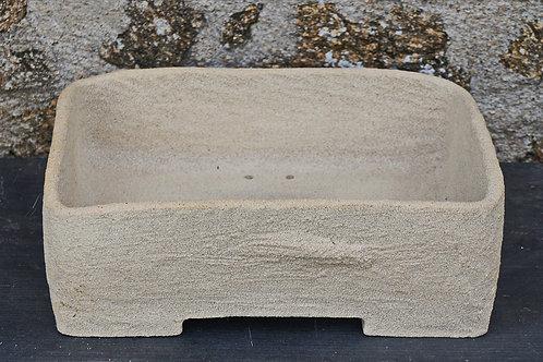 Pot rectangle 30x25 H10 cm
