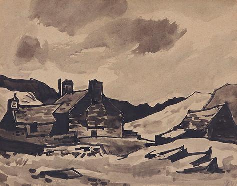 Cae Glas, Cwm Croesor, 1954