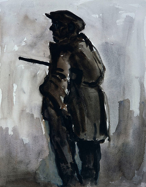 Farmer with Stick, 2003