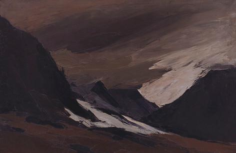 Snow at Ogwen, 1966