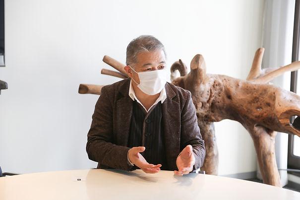 村松取材風景(テレビと録音機トリミングお願いしたいです!).JPG